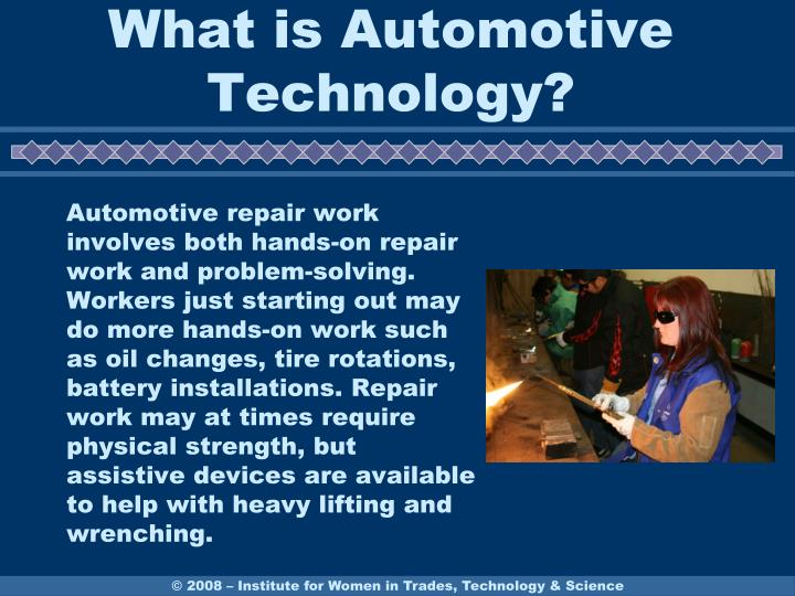 What is automotive technology