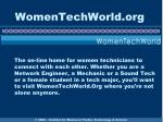 womentechworld org