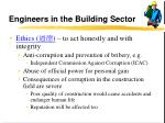 engineers in the building sector24