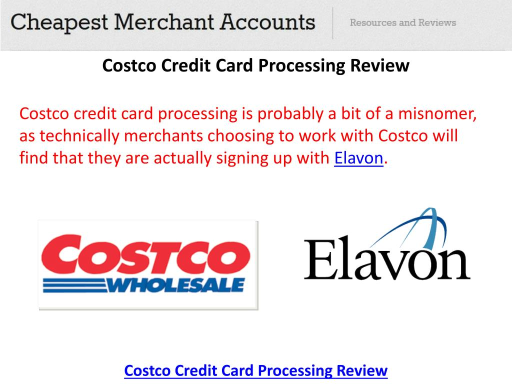 Costco merchant credit card processing reviews best for Business credit card processing
