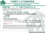 measures for saving and emission reduction of chinese building materials industry26