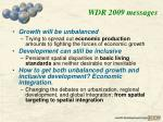 wdr 2009 messages