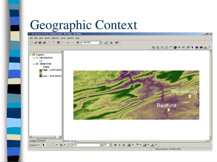 Geographic Context