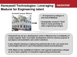 honeywell technologies leveraging madurai for engineering talent