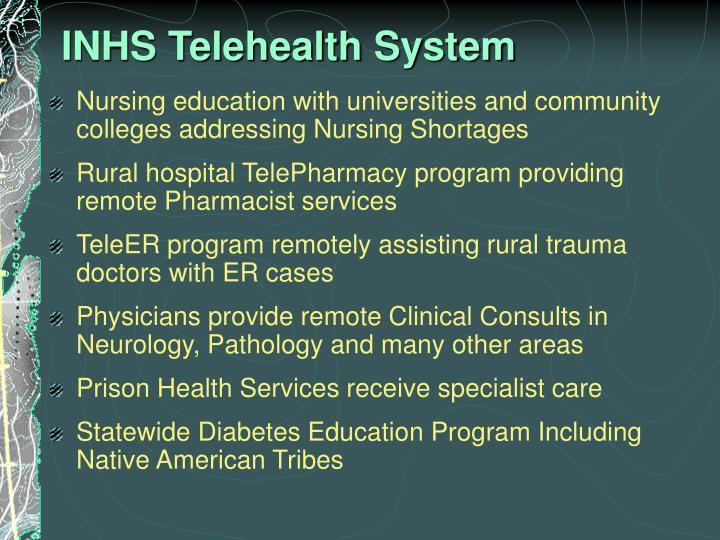 INHS Telehealth System