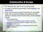 collaboration groups
