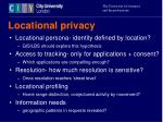 locational privacy