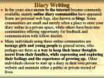 diary writing12