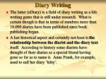 diary writing13