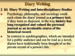 diary writing14