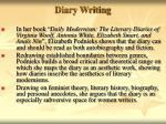 diary writing15