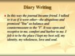 diary writing20