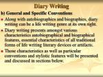diary writing21