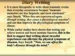 diary writing30