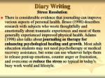 diary writing32