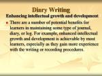 diary writing33