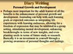 diary writing34