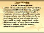 diary writing35