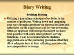 diary writing36