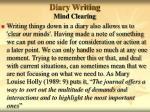 diary writing39