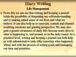 diary writing40