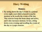 diary writing42