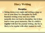 diary writing45