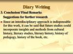 diary writing48