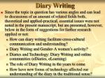 diary writing49