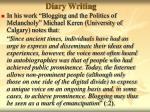 diary writing50