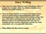 diary writing52