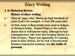 diary writing7