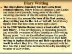 diary writing8