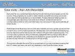 case study alan john associates