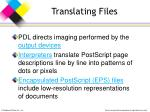 translating files