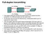 full duplex transmitting