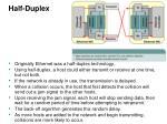 half duplex