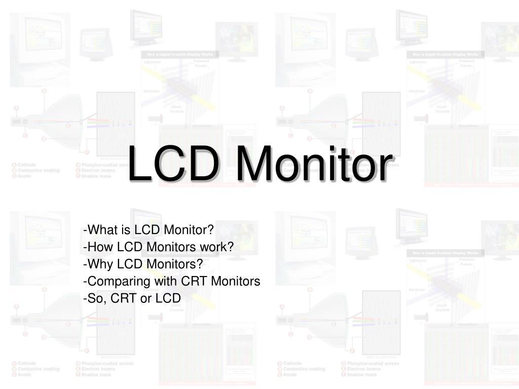 lcd monitor l.