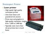 nonimpact printer23