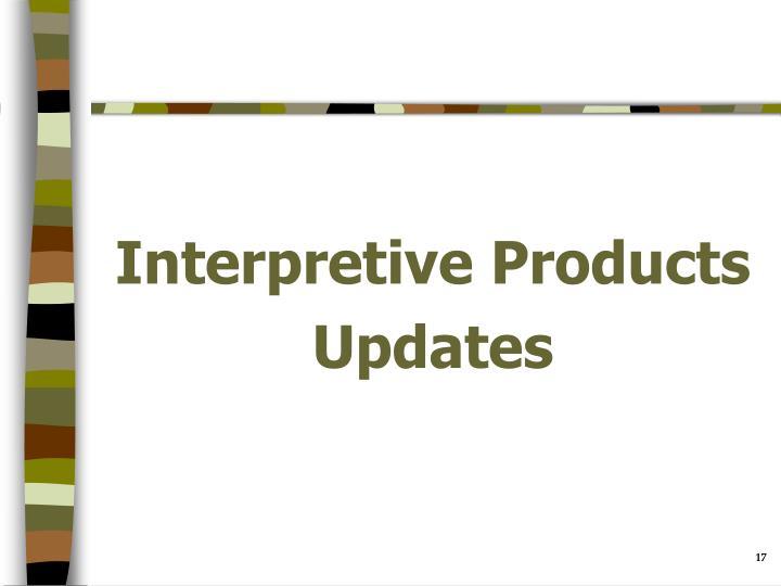 Interpretive Products