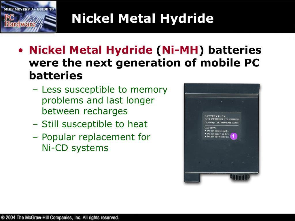 Nickel Metal Hydride