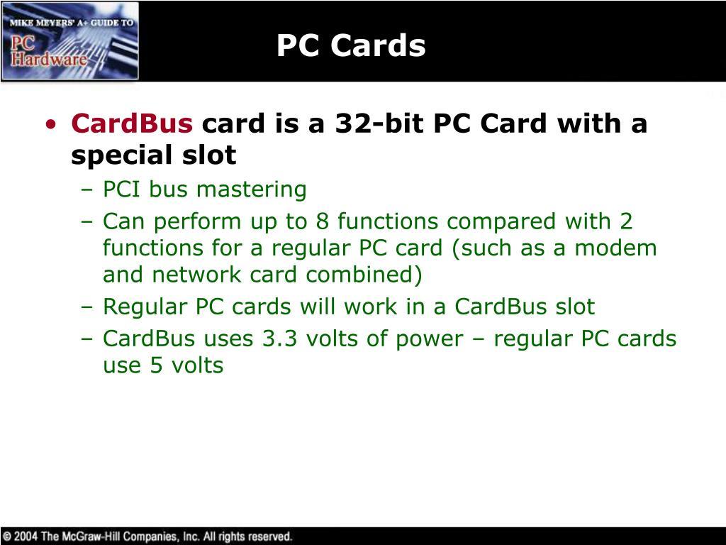 PC Cards