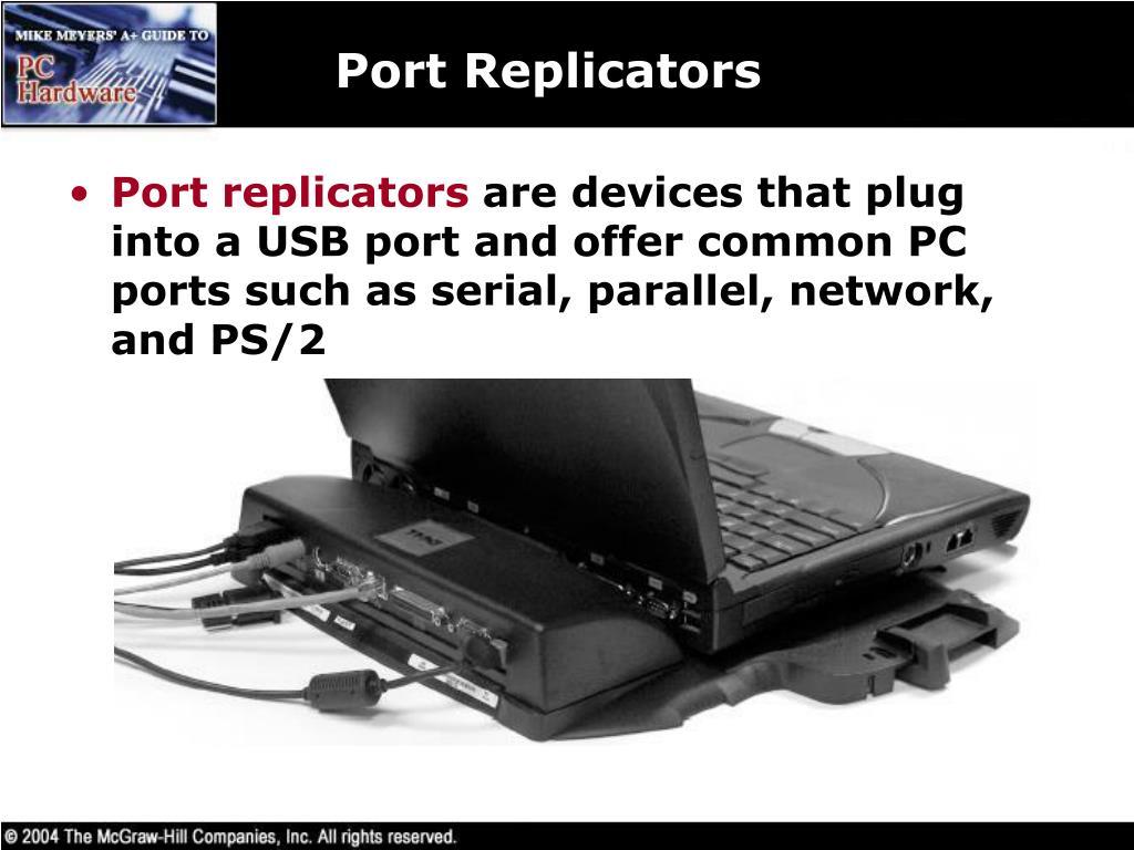 Port Replicators