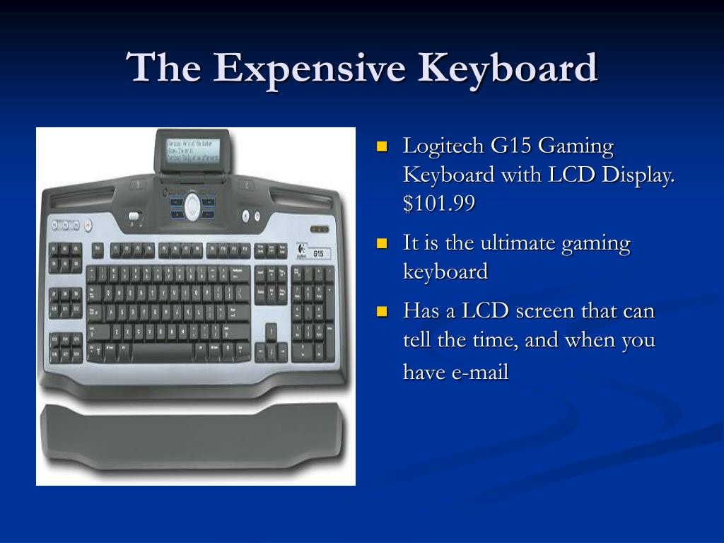 The Expensive Keyboard