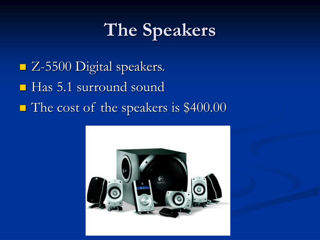 The Speakers