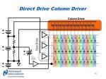 direct drive column driver34