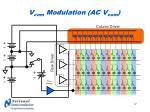 v com modulation ac v com
