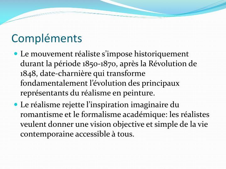 PPT - LE REALISME EN PEINTURE PowerPoint Presentation - ID:503639