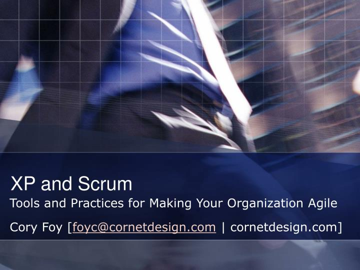 xp and scrum n.