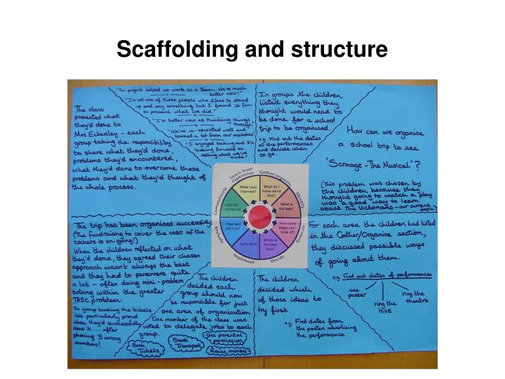 Scaffolding and structure